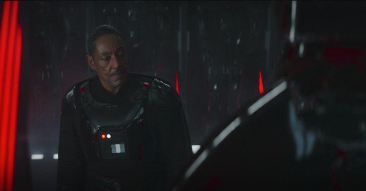 Star Wras Mandalorian 12 Moff Gideon Super Dark Troopers Vader Armor
