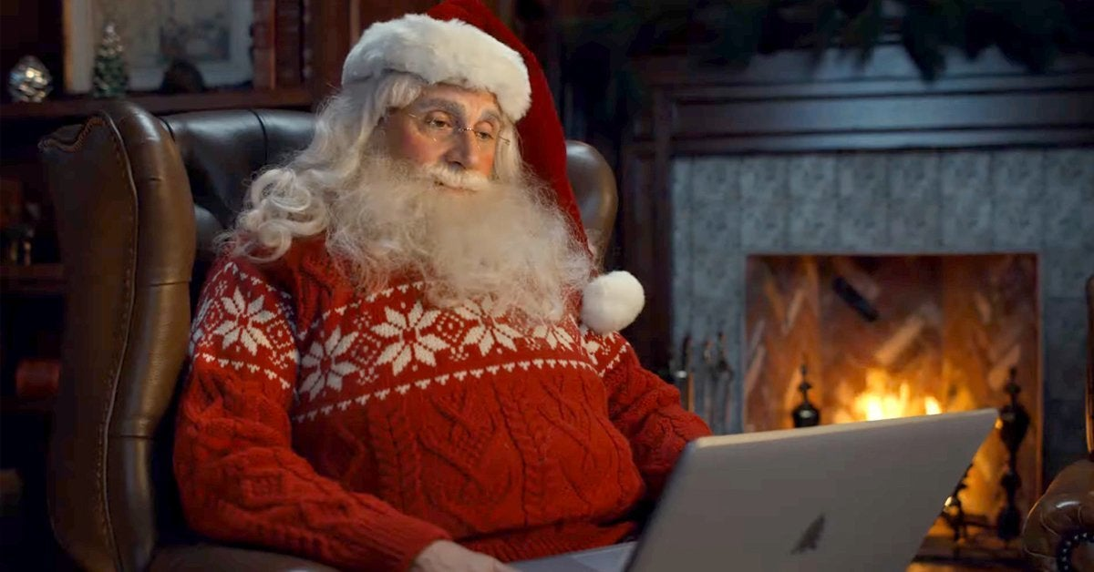 steve carell santa claus comcast commercial
