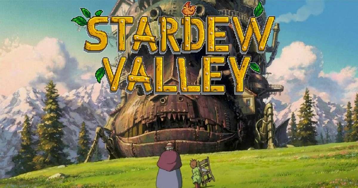 Studio Ghibli Stardew Valley Easter Egg