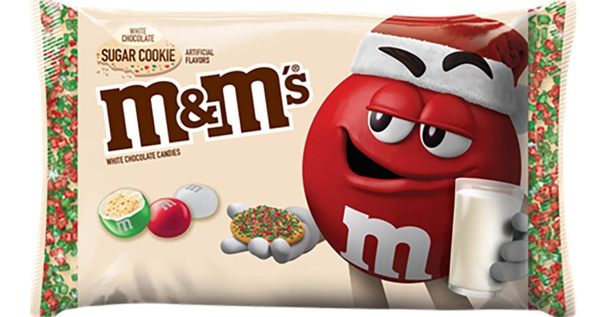 sugar cookie m and ms