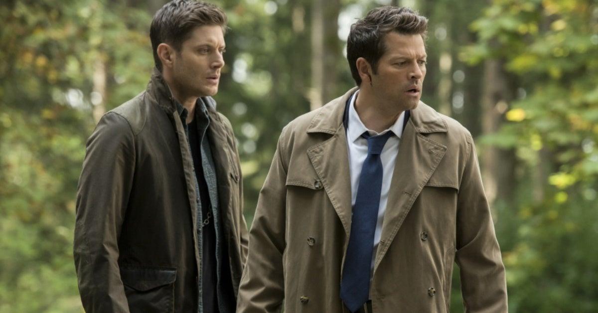 supernatural dean castiel