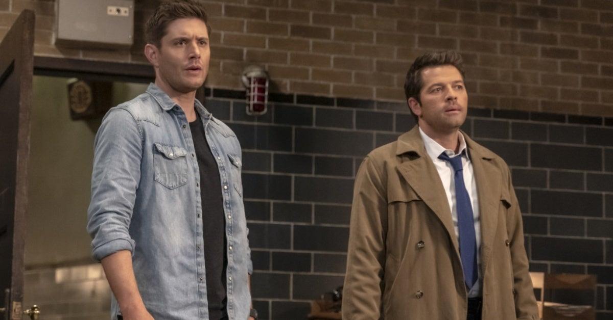 supernatural final season dean castiel