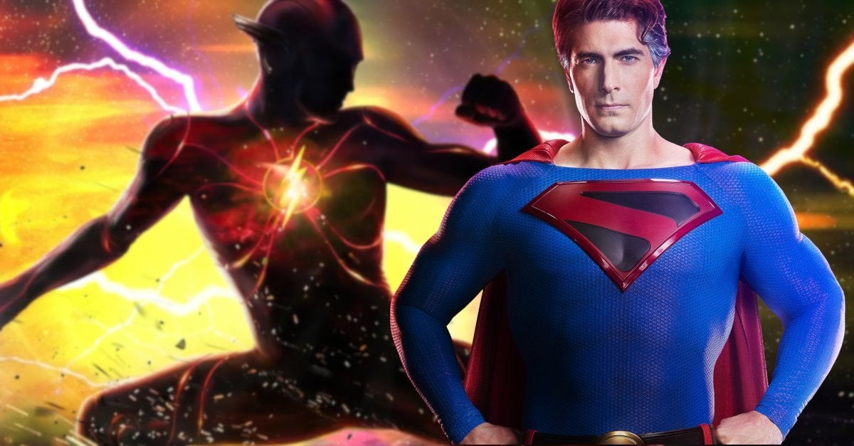 The Flash Movie Brandon Routh Superman