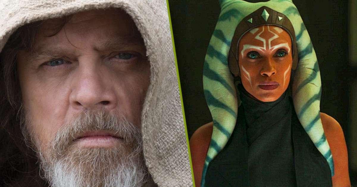 The Mandalorian Ahsoka Tano Luke Skywalker Star Wars