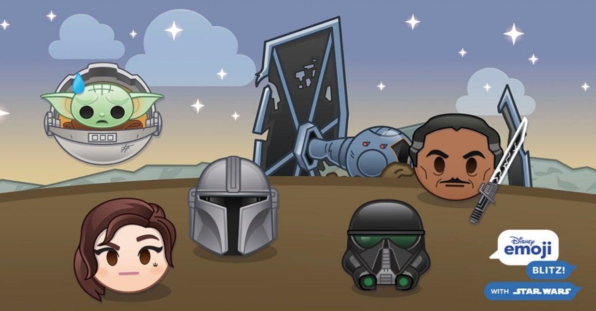 The Mandalorian Baby Yoda emoji Disney Emoji Blitz Star Wars