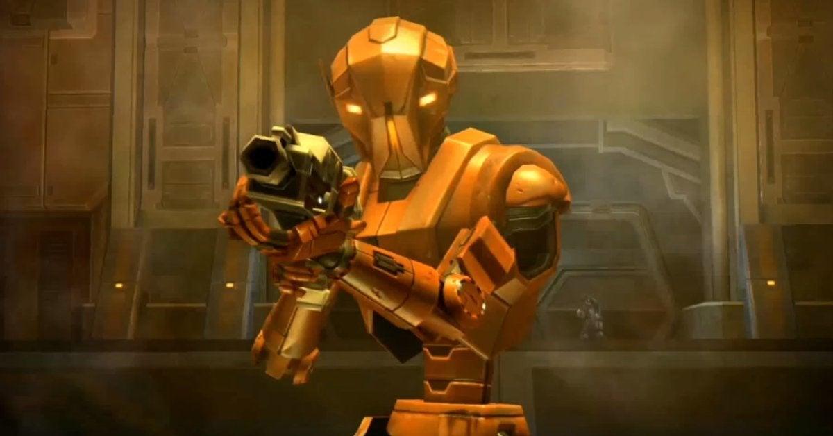 The Mandalorian HK-87 HK-47 Star Wars KOTOR