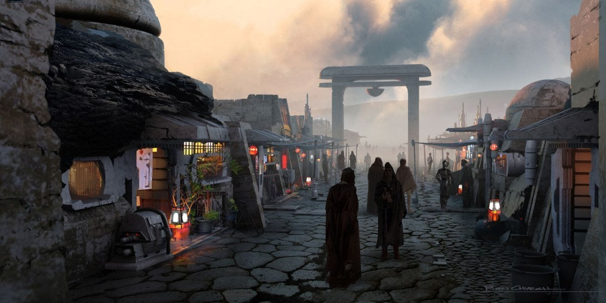 The Mandalorian Season 2 Episode 4 The Siege Concept Art 001