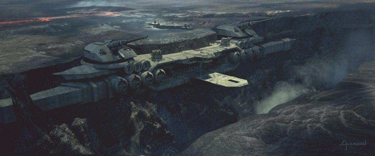 The Mandalorian Season 2 Episode 4 The Siege Concept Art 004