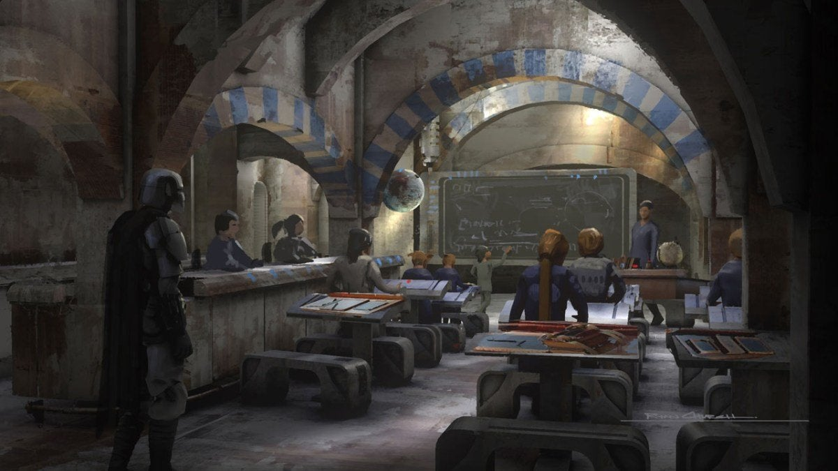 The Mandalorian Season 2 Episode 4 The Siege Concept Art 005