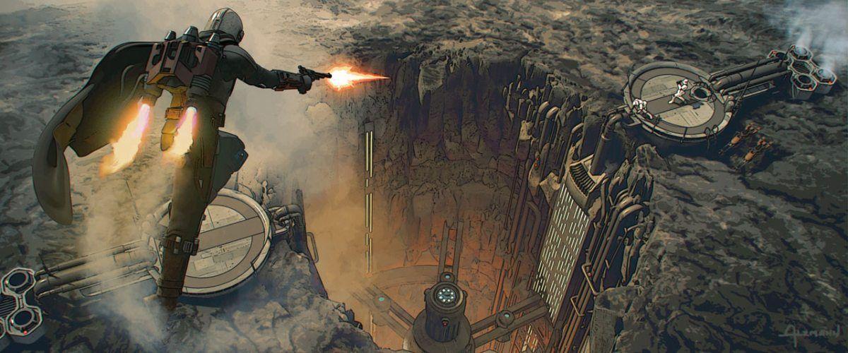 The Mandalorian Season 2 Episode 4 The Siege Concept Art 007