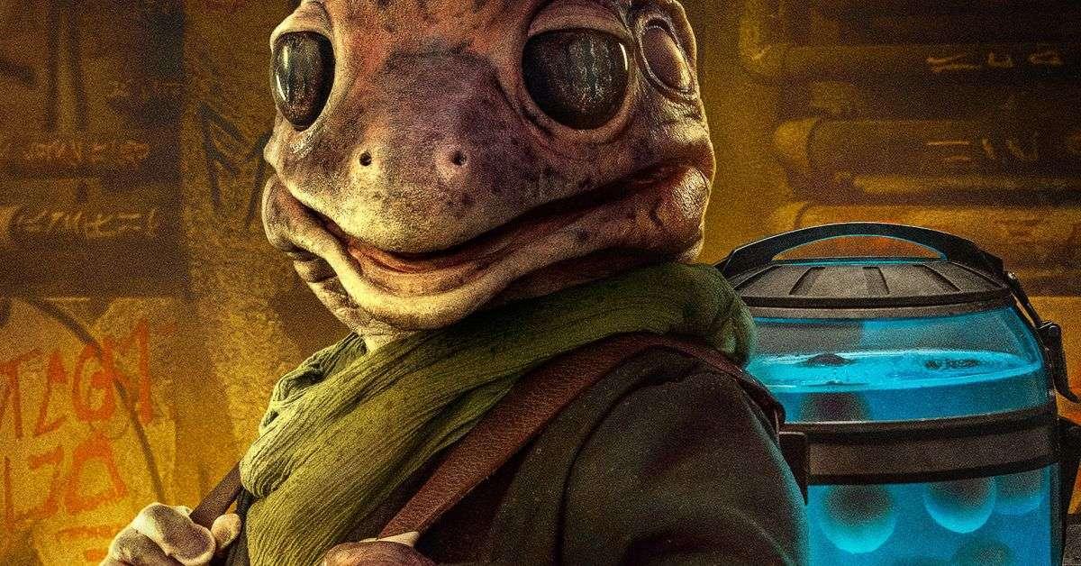 the mandalorian season two character poster frog lady