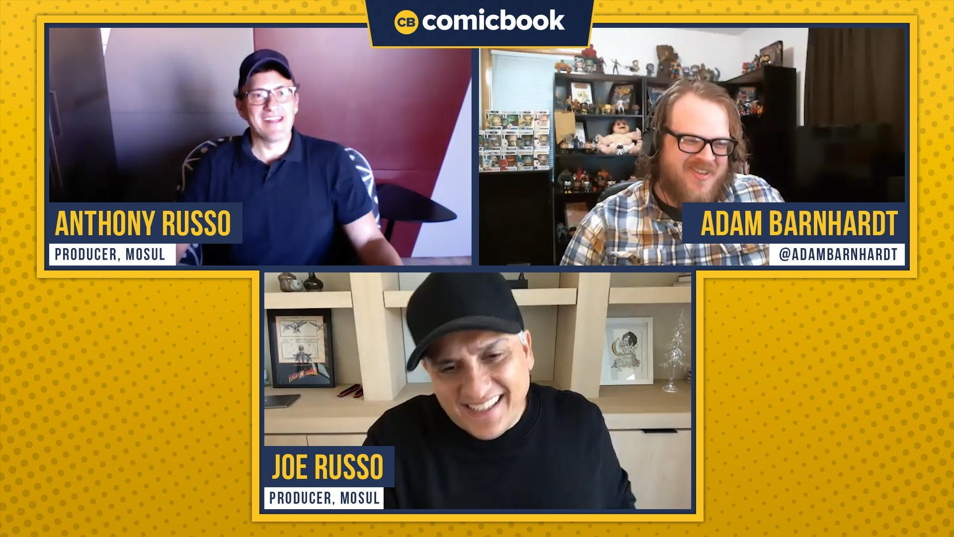 The Russo Brothers Talk MOSUL - ComicBook.com Exclusive Interview