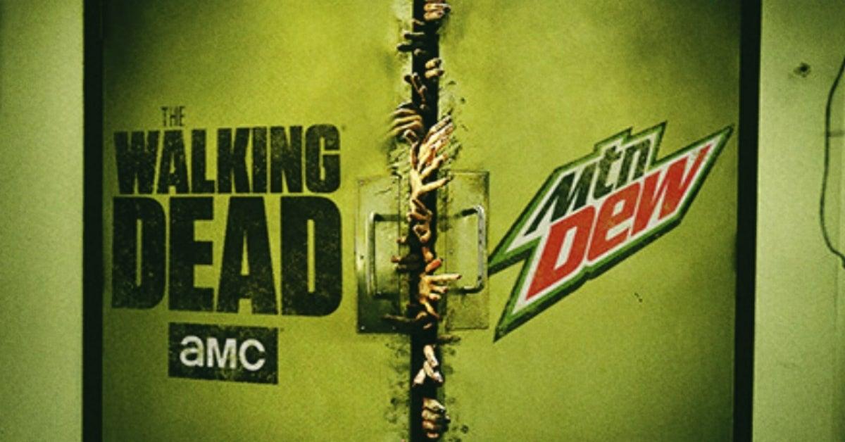The Walking Dead AMC Mountain Dew