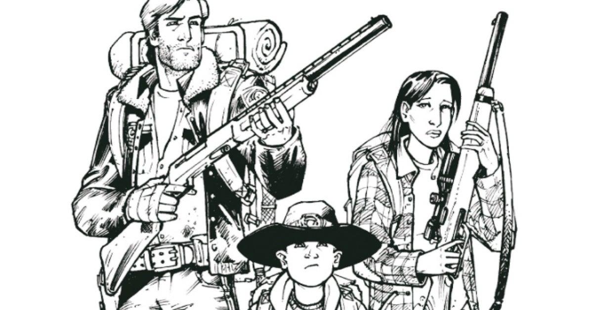 The Walking Dead comics Robert Kirkman Tony Moore