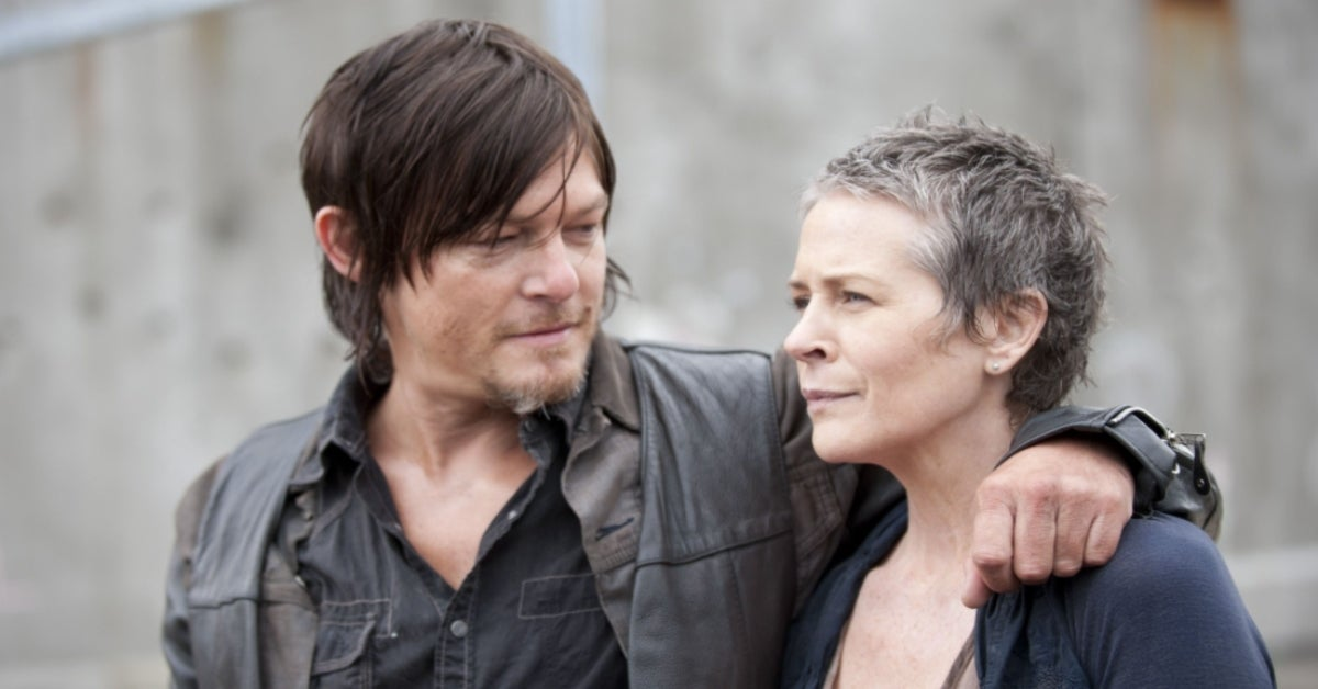 The Walking Dead Daryl Carol Norman Reedus Melissa McBride