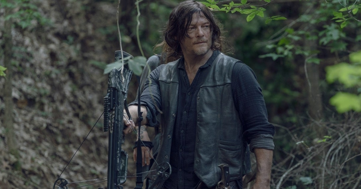 The Walking Dead Daryl Norman Reedus Season 10