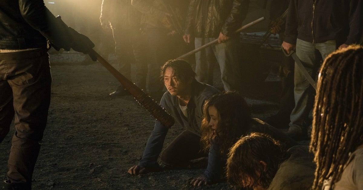 The Walking Dead Glenn Lucille