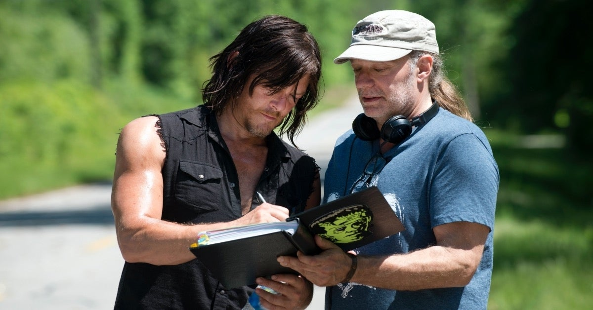 The Walking Dead Greg Nicotero Norman Reedus
