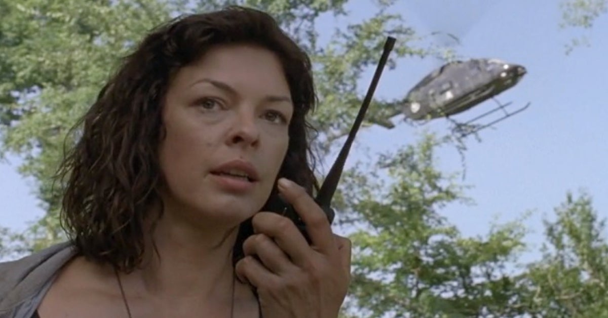 The Walking Dead Jadis CRM Helicopter Pollyanna McIntosh