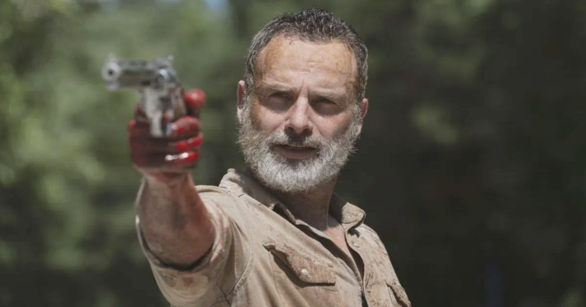 The Walking Dead Rick Grimes Andrew Lincoln beard