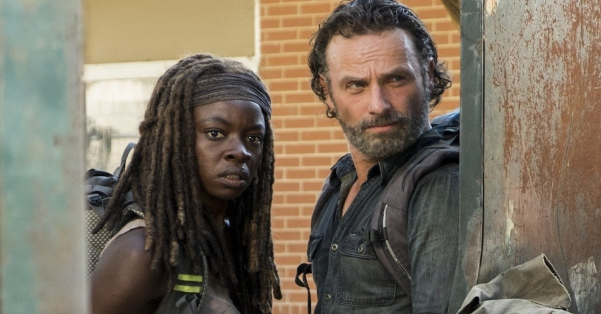 The Walking Dead Rick Michonne Richonne