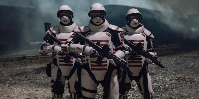 The Walking Dead Season 10 Commonwealth soldiers