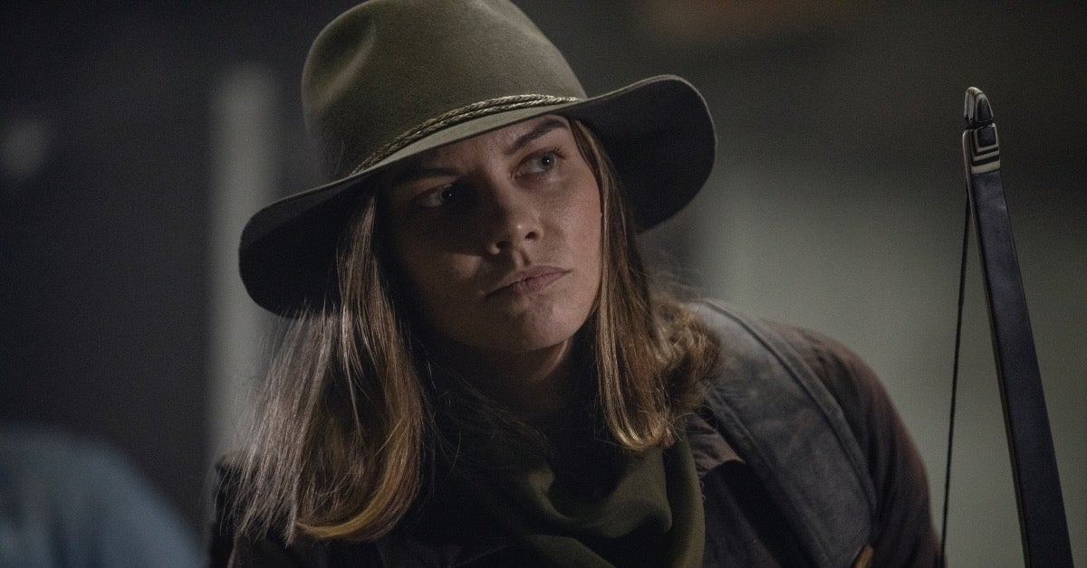 The Walking Dead Season 10 Lauren Cohan Maggie