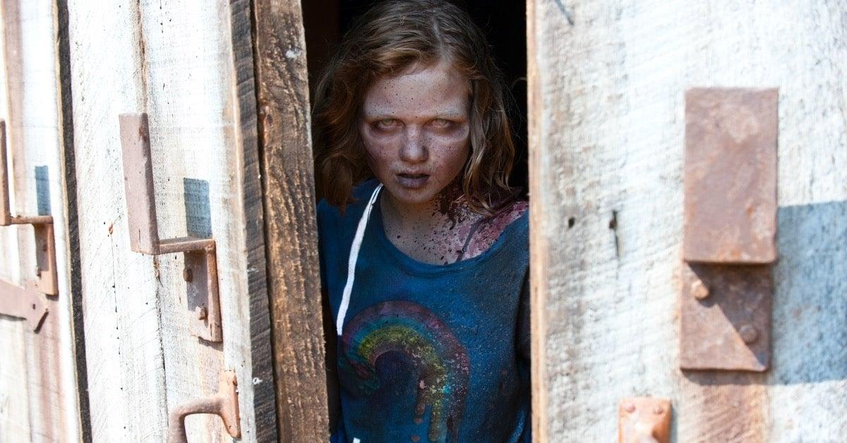 The Walking Dead Sophia death barn episode Pretty Much Dead Already