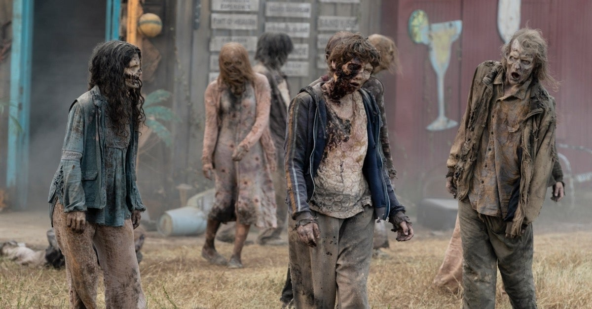 The Walking Dead World Beyond zombies