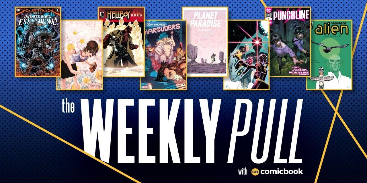 the weekly pull week of november 11th