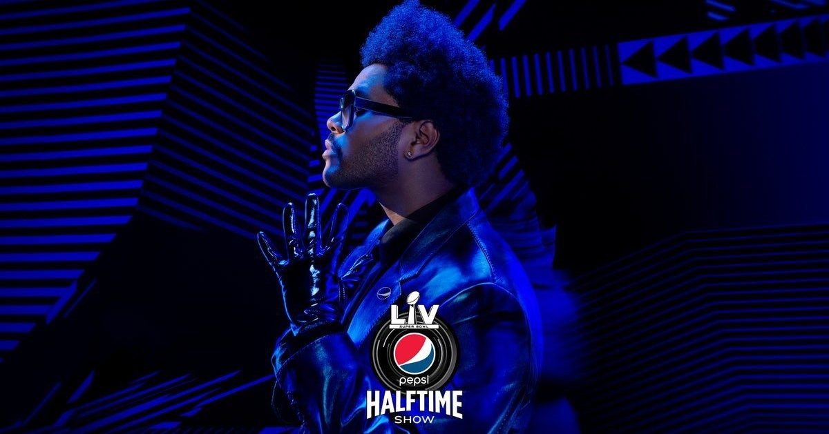 The Weeknd Super Bowl LV Halftime Show 2021