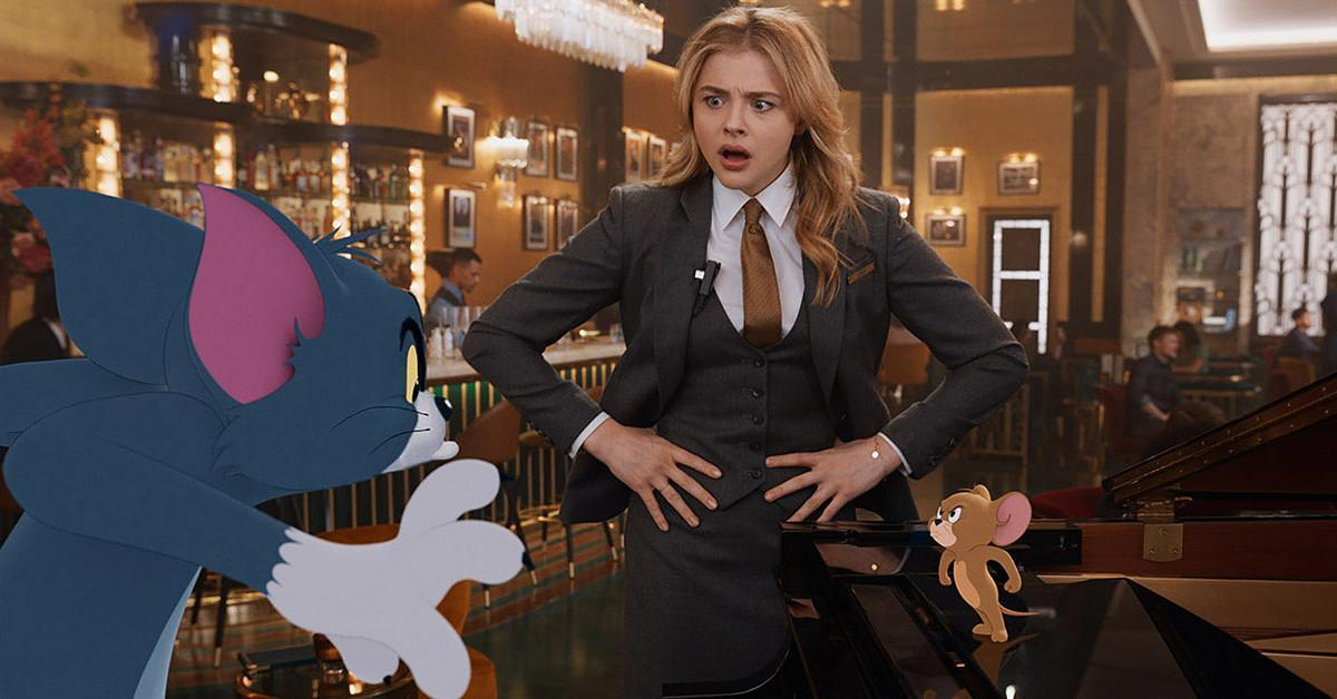 Tom and Jerry Chloe Grace Moretz