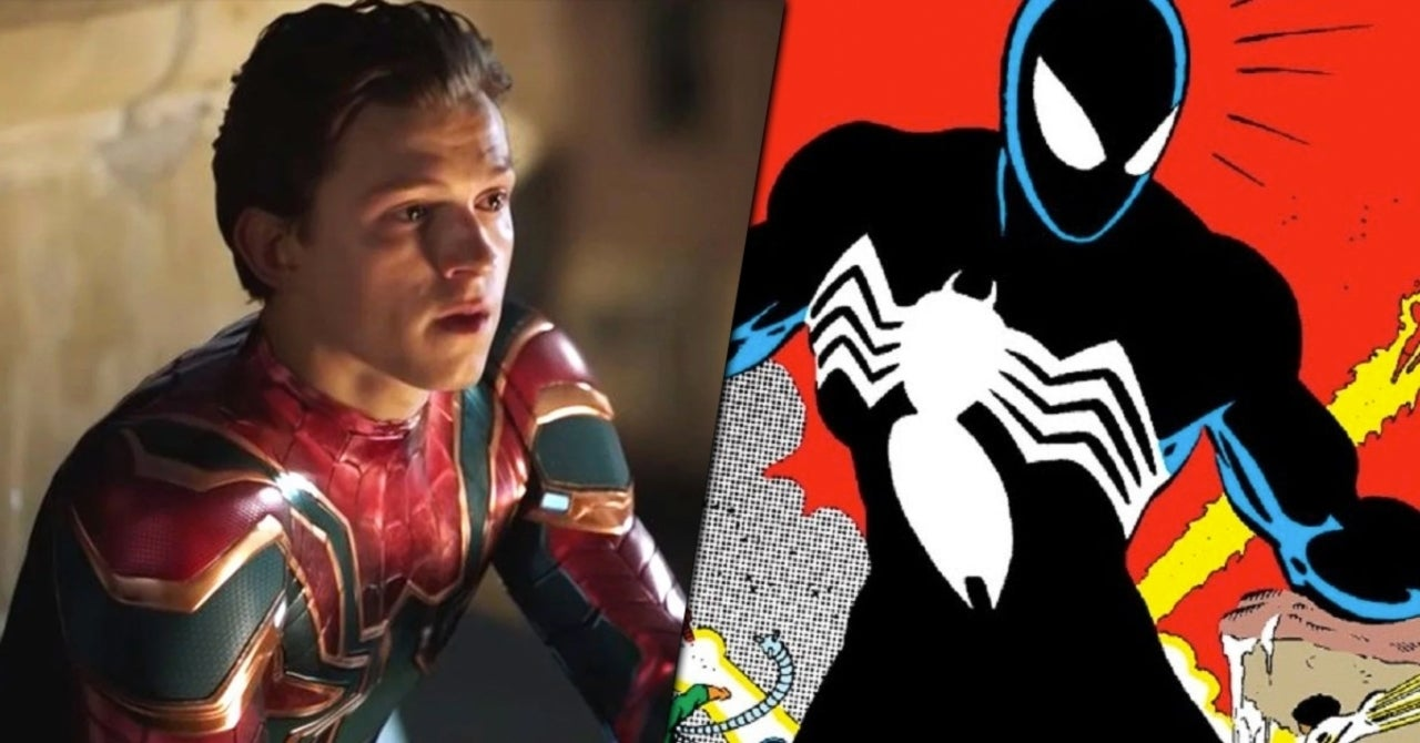 Spider-Man Fan Imagines Tom Holland in Iconic Black Symbiote Suit  image