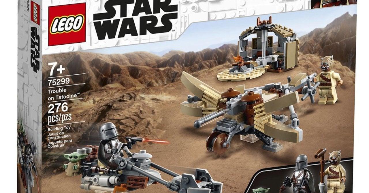 new lego star wars the mandalorian set is based on