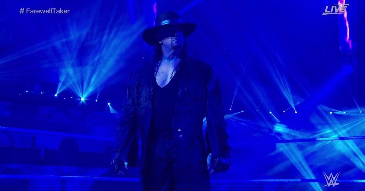 Undertaker WWE Retirement