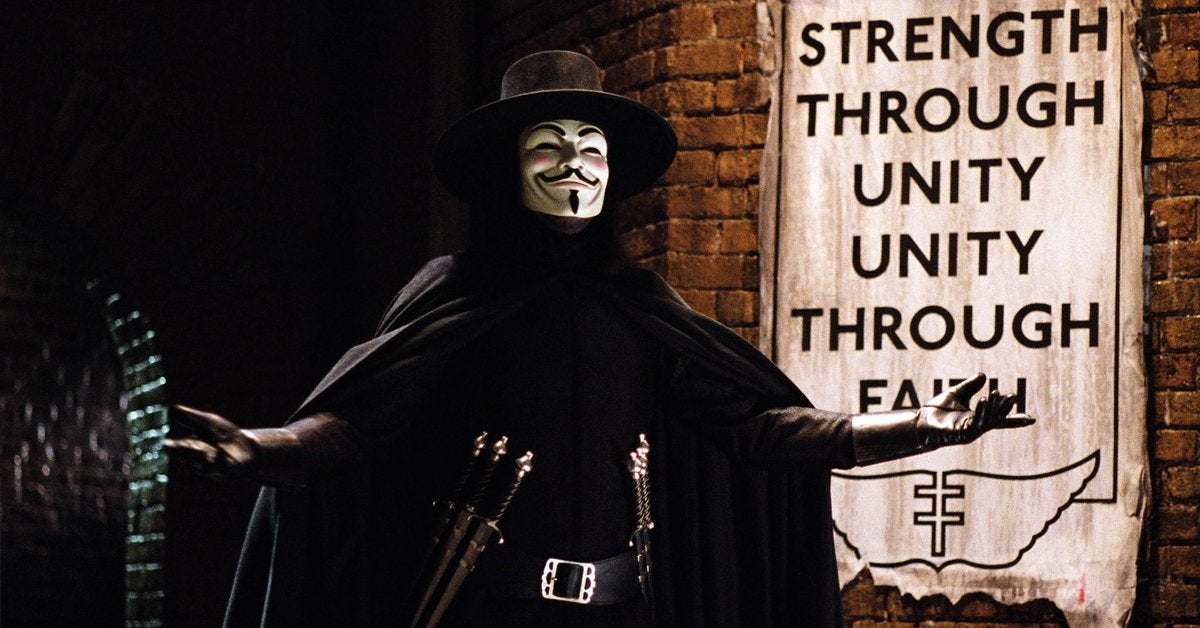 v for vendetta movie 2006 v