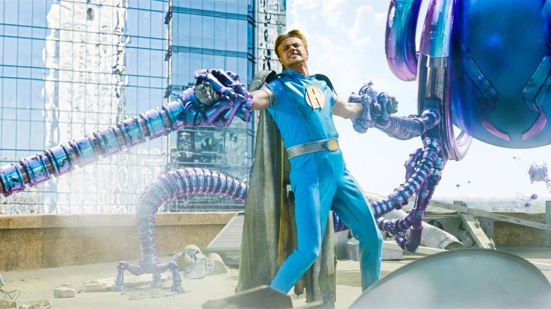 """""""Педро Паскаль и Кристиан Слэйтер на первых кадрах супергеройского фильма «Мы можем быть героями» - Feedify"""