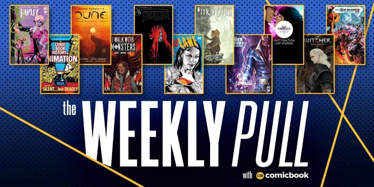 weekly pull week of november 25th
