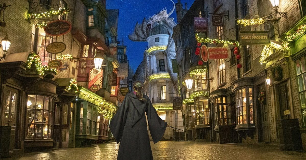 wizarding world harry potter holiday universal studios orlando