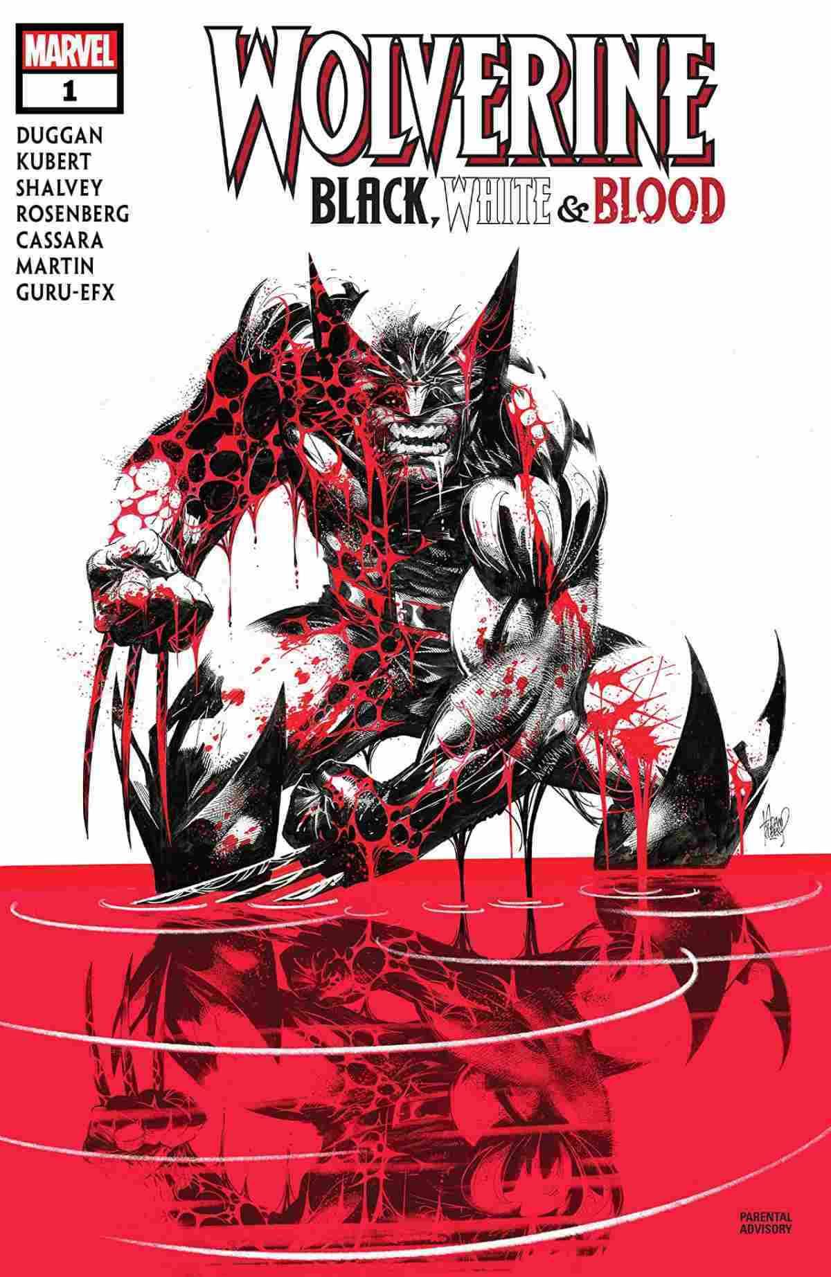 Wolverine Black, White, & Blood #1
