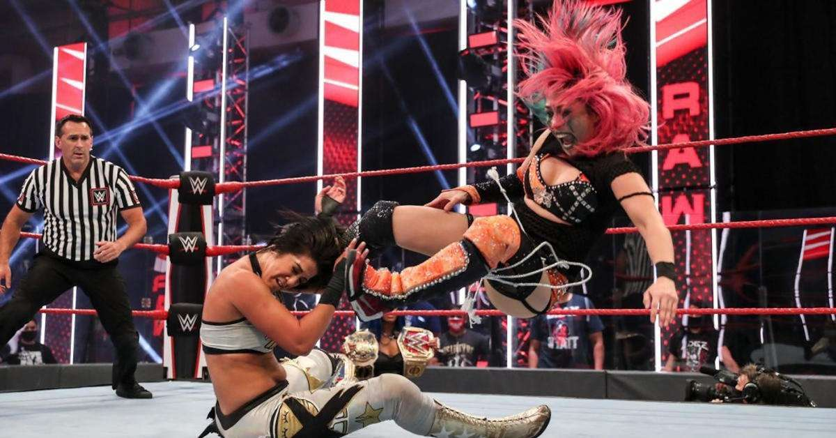 WWE Bayley Asuka