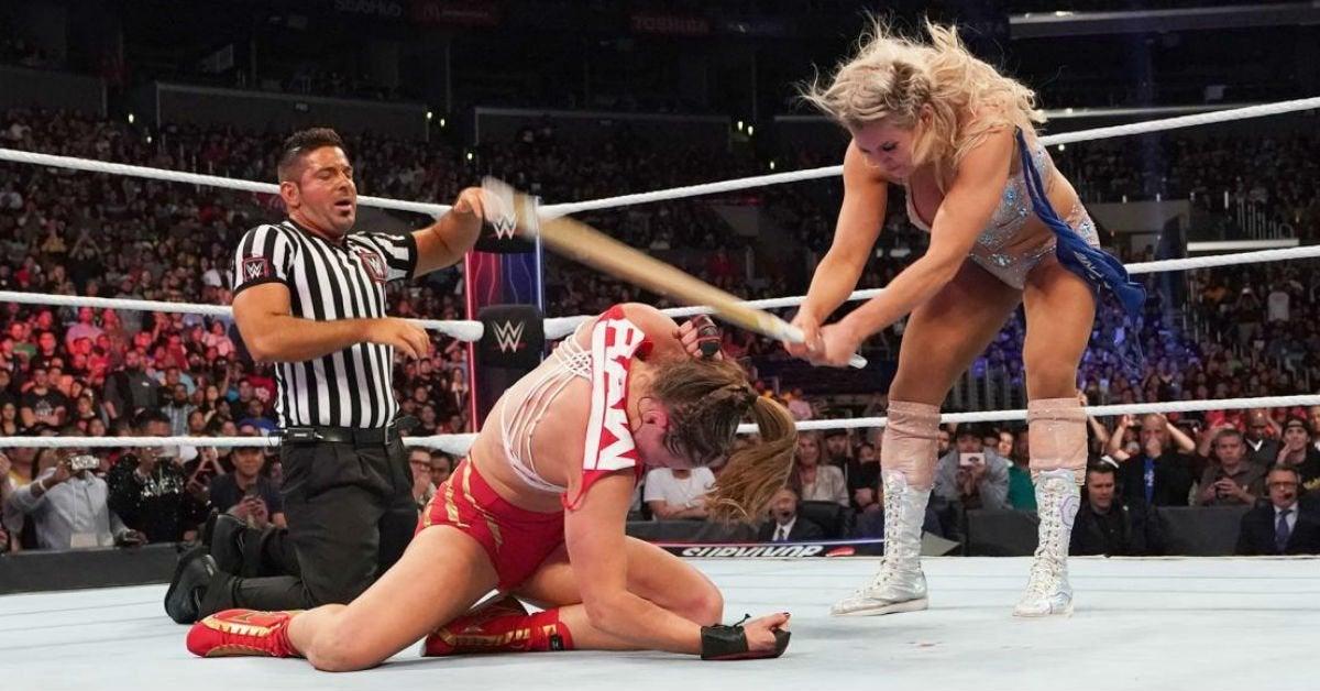 WWE-Charlotte-Flair-Ronda-Rousey-Survivor-Series