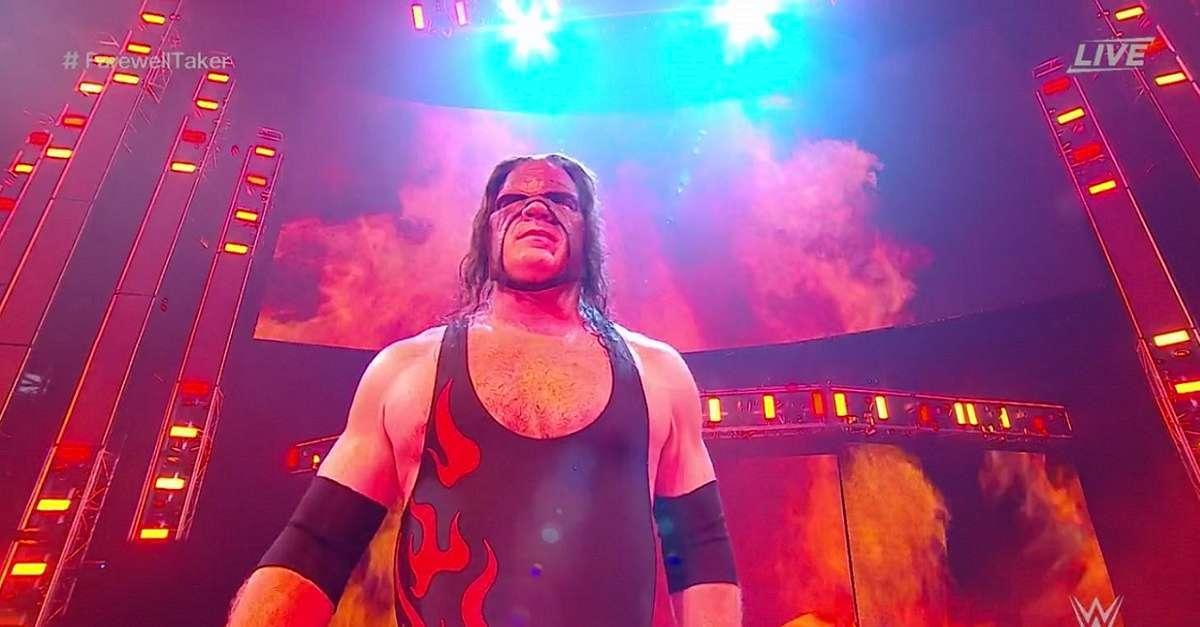 WWE Kane Costume