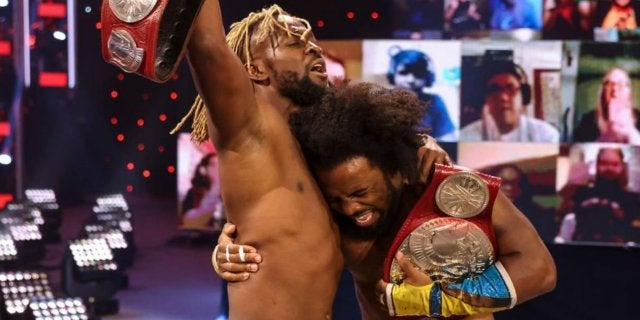 WWE-Kofi-Kingston-Xavier-Woods-retain