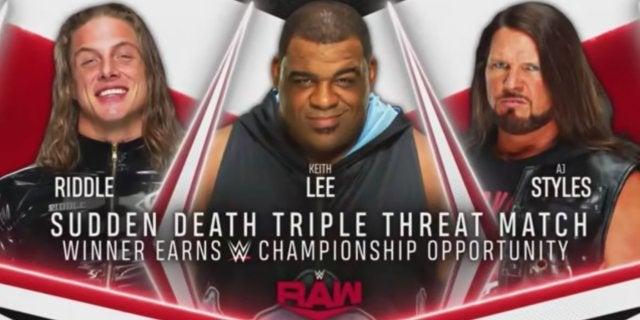 WWE-Raw-Riddle-Keith-Lee-AJ-Styles