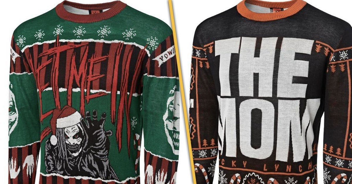 WWE-Ugly-Christmas-Holiday-Sweaters