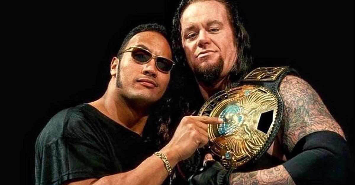 WWE-Undertaker-Farewell-The-Rock-Triple-H