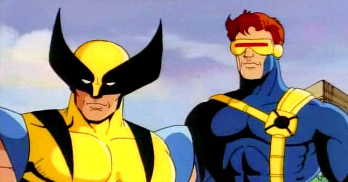 X-Men the Animated Series Cyclops Wolverine Norm Spencer Cal Dodd