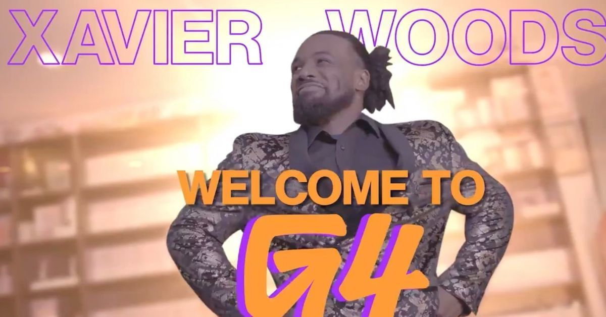 Xavier Woods G4 Host