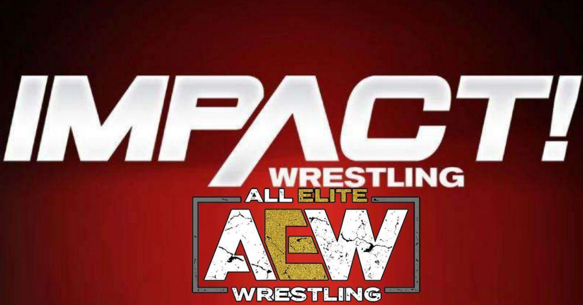 AEW-Impact-Crossover-Logos